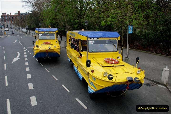 2019-03-31 Dublin, Eire. (72) Duck bus rides still operating in Dublin. 072