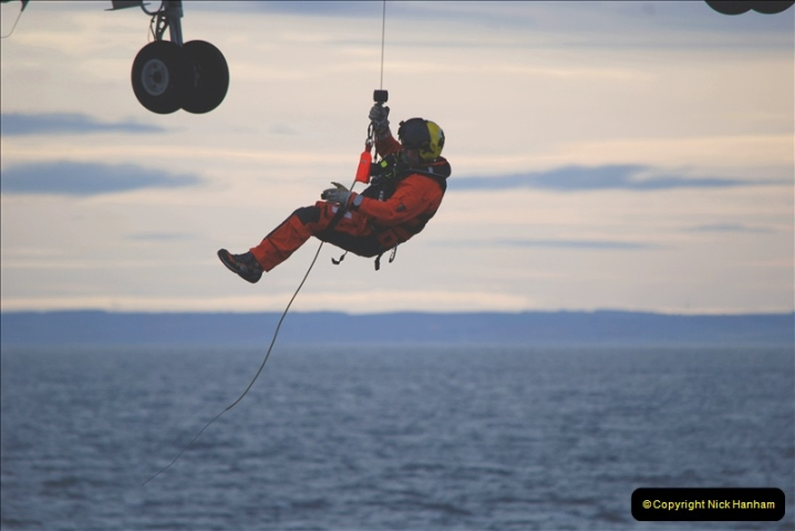 2019-03-19 Invergordon, Scotland. (11) Off the coast of Scotland Coast Guard practice excersise. 011