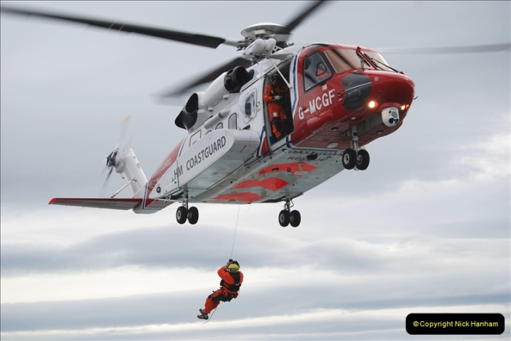 2019-03-19 Invergordon, Scotland. (20) Off the coast of Scotland Coast Guard practice excersise. 020