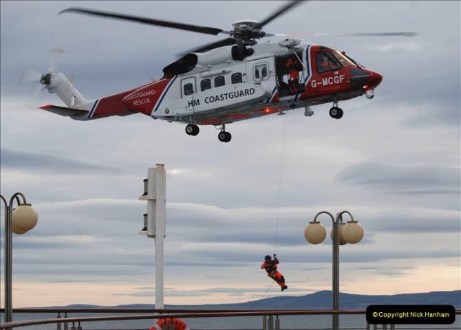 2019-03-19 Invergordon, Scotland. (27) Off the coast of Scotland Coast Guard practice excersise. 027