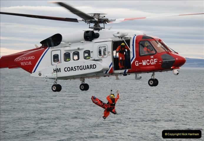 2019-03-19 Invergordon, Scotland. (38) Off the coast of Scotland Coast Guard practice excersise. 038
