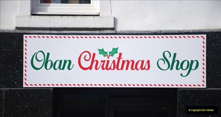 2019-03-30 Oban, Scotland. (86) Shop early for Christmas.086