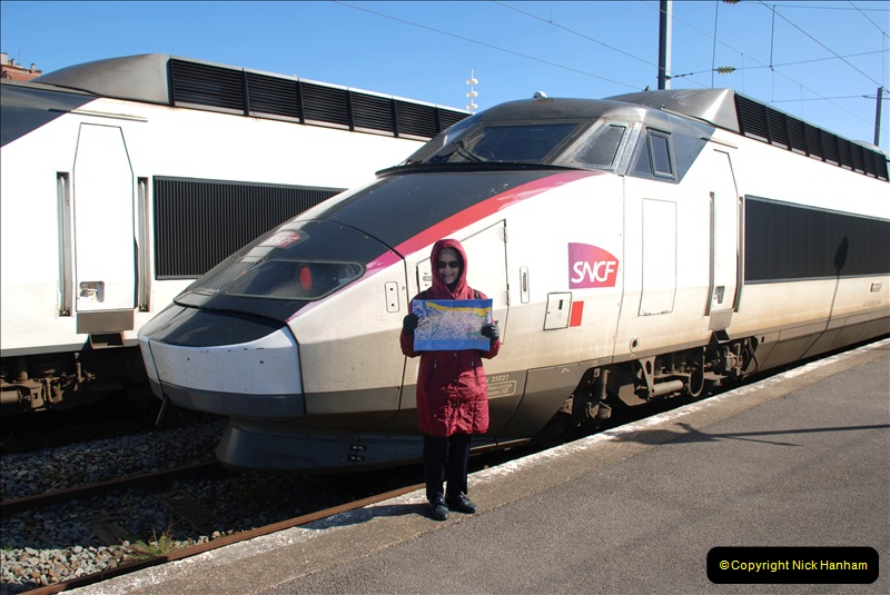 2019-04-23 to 24 Poole to Dunkirk, France. (169) Your Host's Wife.169