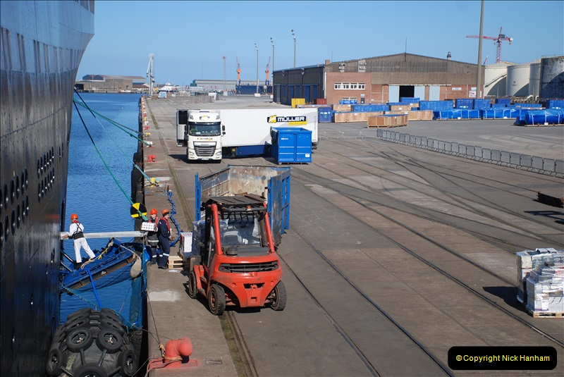 2019-04-23 to 24 Poole to Dunkirk, France. (248) 248