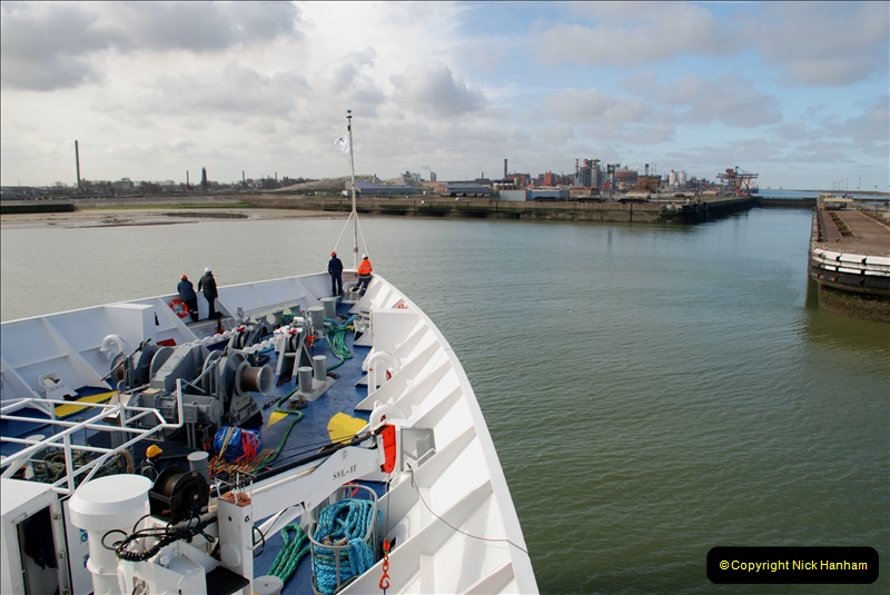 2019-04-23 to 24 Poole to Dunkirk, France. (66) 066