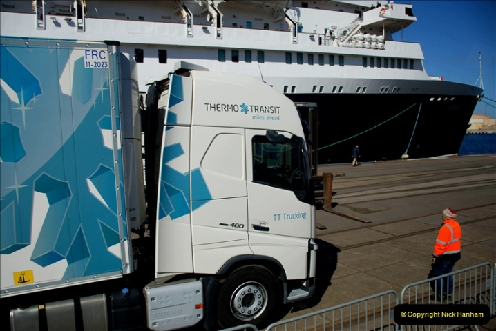 2019-04-23 to 24 Poole to Dunkirk, France. (103) 103