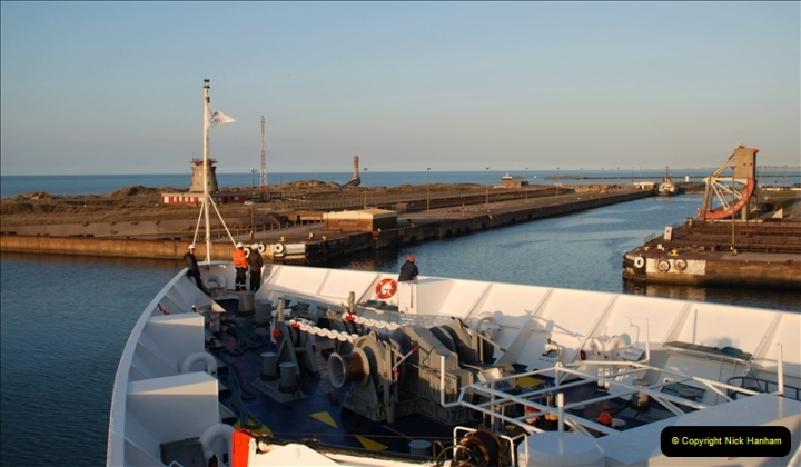 2019-04-23 to 24 Poole to Dunkirk, France. (288) 288