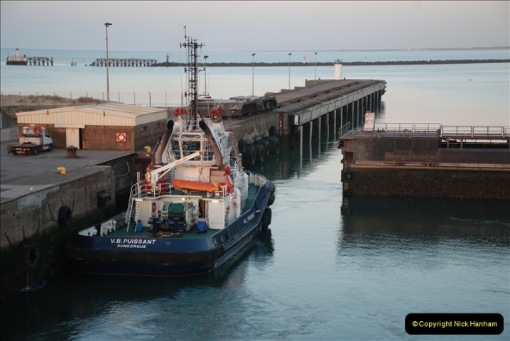 2019-04-23 to 24 Poole to Dunkirk, France. (301) 301
