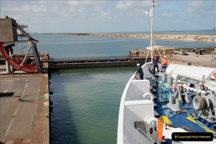 2019-04-23 to 24 Poole to Dunkirk, France. (77) 077