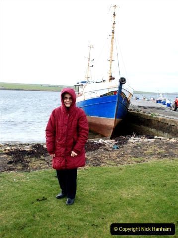 2019-03-28 Kirkwall, Orkney Islands. (133) Your Host's Wife.133