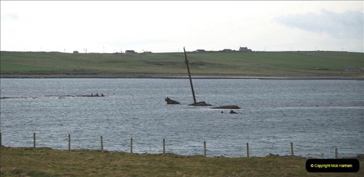 2019-03-28 Kirkwall, Orkney Islands. (93) Remains of blockade ships. 093