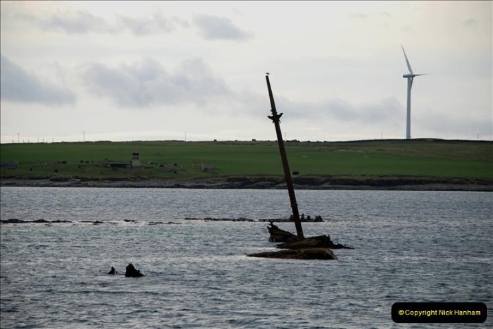 2019-03-28 Kirkwall, Orkney Islands. (96) Remains of blockade ships. 095