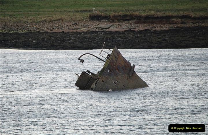 2019-03-28 Kirkwall, Orkney Islands. (98) Remains of blockade ships. 097