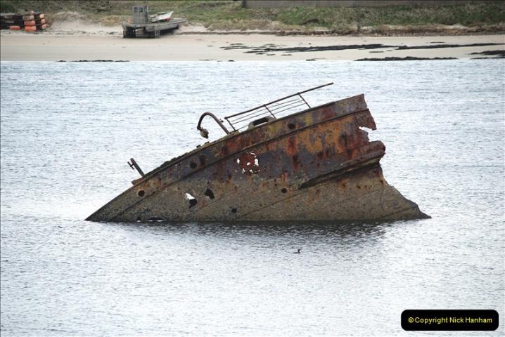 2019-03-28 Kirkwall, Orkney Islands. (99) Remains of blockade ships. 098