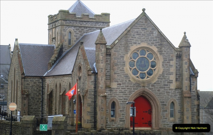 2019-03-27 Lerwick, Shetland Islands. (73) New use for an old church. 073