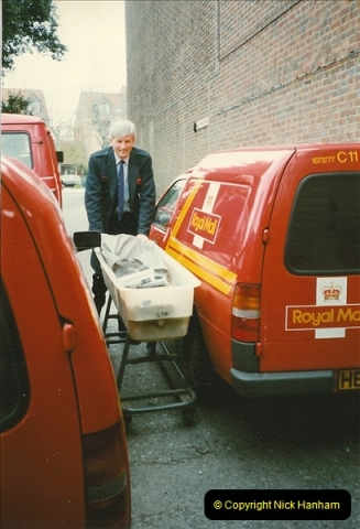 1959 to 2000 Rayal Mail mostly Bournemouth & Poole. Your Host & MANY good friends.  (114) 114