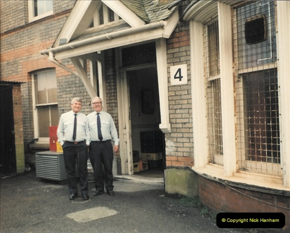 1959 to 2000 Rayal Mail mostly Bournemouth & Poole. Your Host & MANY good friends.  (12) 012