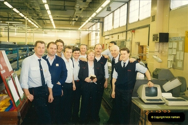 1959 to 2000 Rayal Mail mostly Bournemouth & Poole. Your Host & MANY good friends.  (124) 124