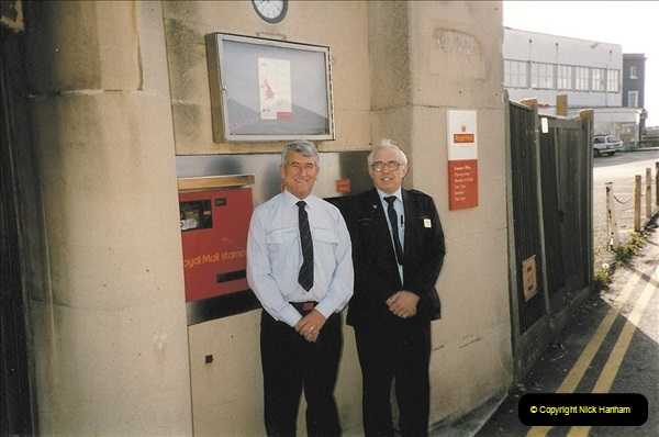 1959 to 2000 Rayal Mail mostly Bournemouth & Poole. Your Host & MANY good friends.  (14) 014