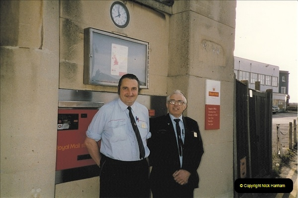 1959 to 2000 Rayal Mail mostly Bournemouth & Poole. Your Host & MANY good friends.  (15) 015