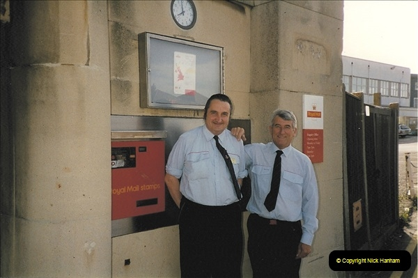 1959 to 2000 Rayal Mail mostly Bournemouth & Poole. Your Host & MANY good friends.  (16) 016