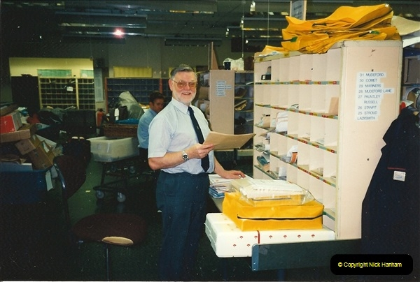 1959 to 2000 Rayal Mail mostly Bournemouth & Poole. Your Host & MANY good friends.  (34) 034