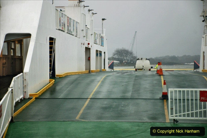 2019-10-31 Sandbanks to Studland ferry returns after a 3 month absence due to major repairs on engines. (3) Sandbanks to Studland. 003