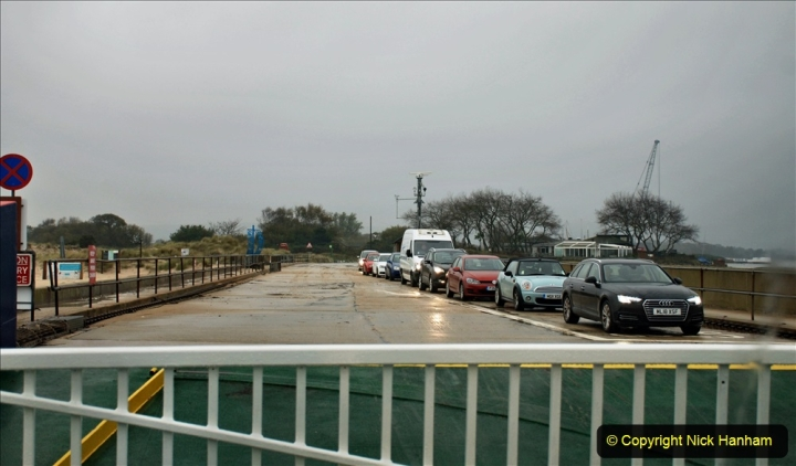 2019-10-31 Sandbanks to Studland ferry returns after a 3 month absence due to major repairs on engines. (7) Sandbanks to Studland. 007