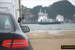 2019-10-31 Sandbanks to Studland ferry returns after a 3 month absence due to major repairs on engines. (19) Studland to Sandbanks. 019