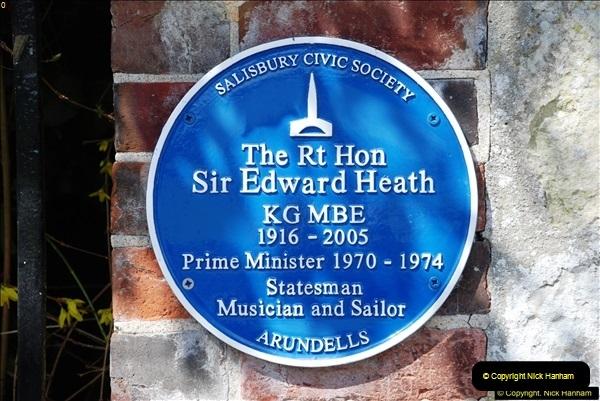 2016-04-23 Sir Edward Heath's House in Salisbury, Wiltshire.  (10)010