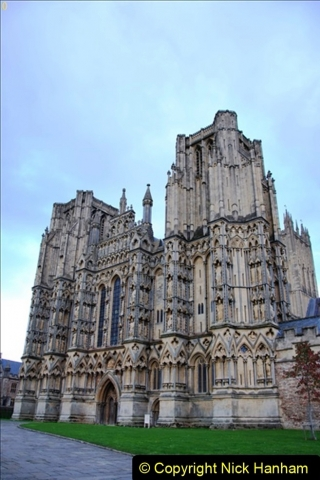 2019-09-16 Wells, Somerset. (2) Wells Cathedral. 002