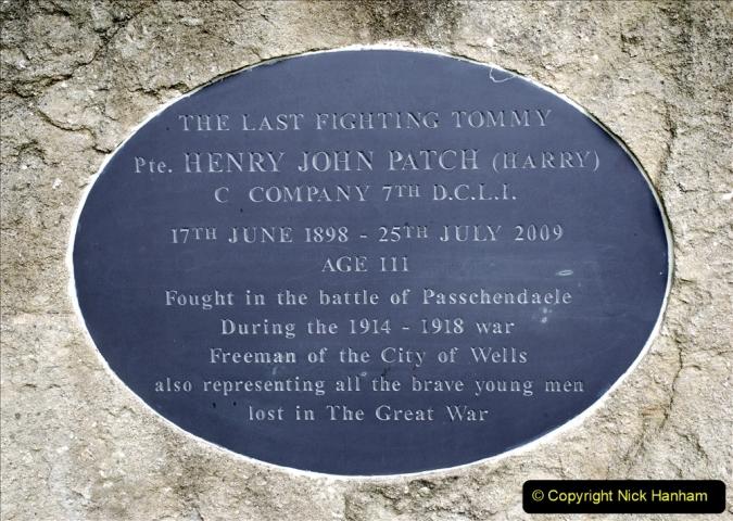 2019-09-16 Wells, Somerset. (51) Harry Patch Memorial.  051
