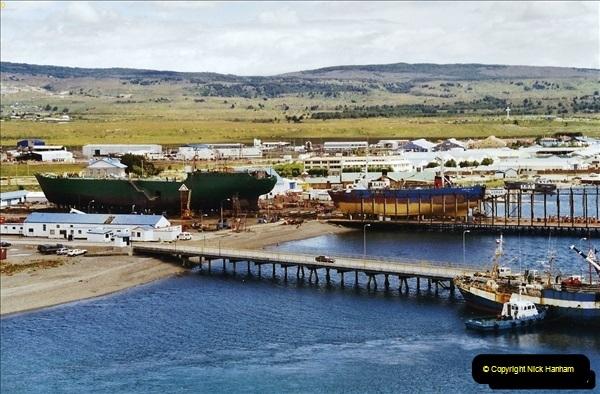 South America & The Falkland Islands.  2002 - 2003 (123)123