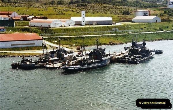 South America & The Falkland Islands.  2002 - 2003 (166)166