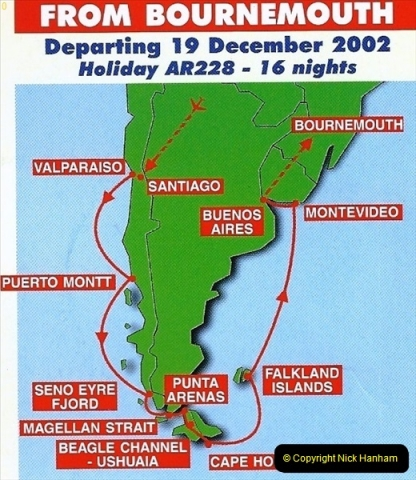 South America & The Falkland Islands.  2002 - 2003 (2)002