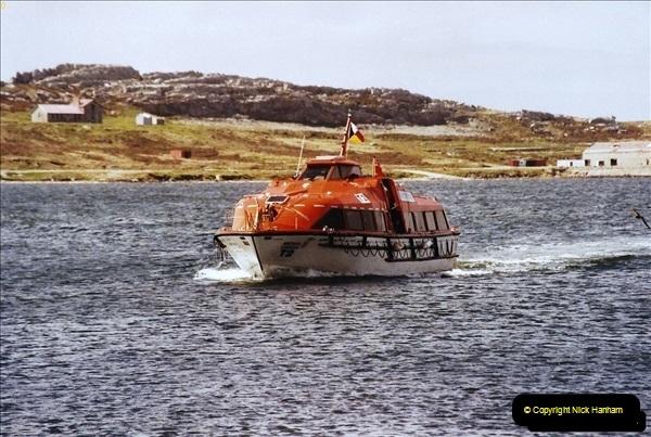 South America & The Falkland Islands.  2002 - 2003 (313)313