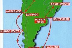 South America & The Falkland Islands.  2002 - 2003 (2)002