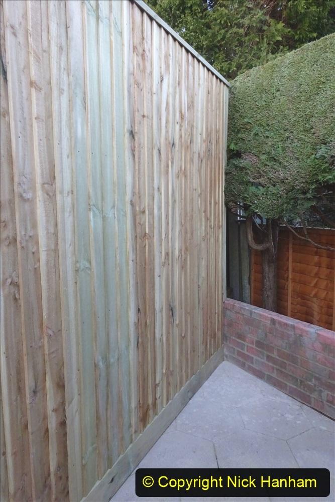 2021-03-06 New fencing for rear garden. Garden makeover. (82) 082