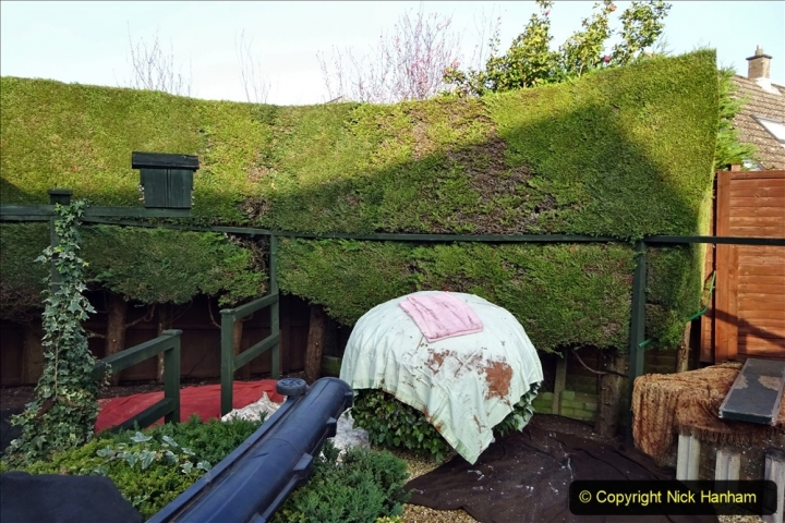 2021-03-01 Lowering hedge. Garden makeover. (36) 036