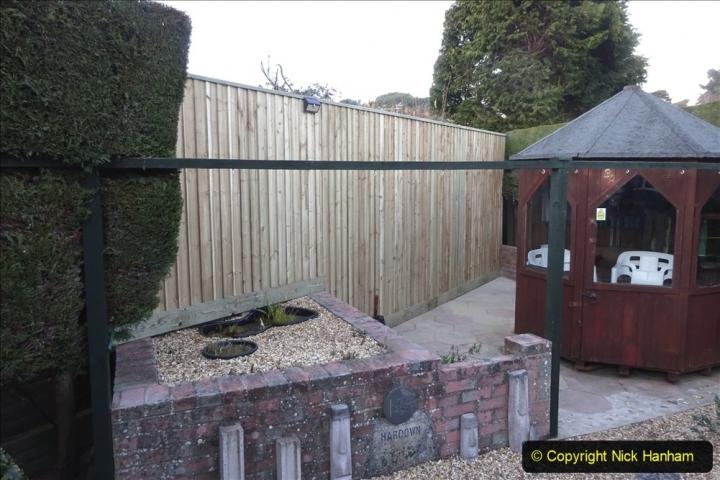 2021-03-06 New fencing for rear garden. Garden makeover. (80) 080
