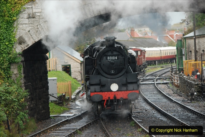 2019-10-11 Six Locomotives for the SR Autumn Steam Gala. (107) 107