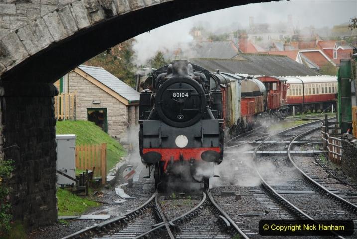 2019-10-11 Six Locomotives for the SR Autumn Steam Gala. (108) 108