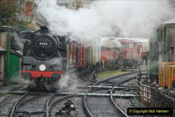 2019-10-11 Six Locomotives for the SR Autumn Steam Gala. (109) 109