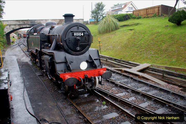 2019-10-11 Six Locomotives for the SR Autumn Steam Gala. (112) 112