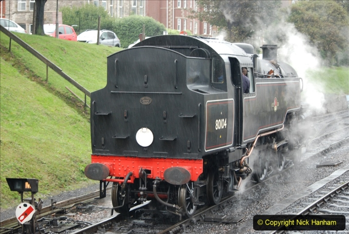 2019-10-11 Six Locomotives for the SR Autumn Steam Gala. (116) 116