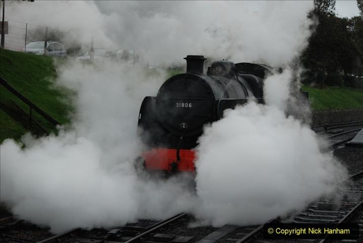 2019-10-11 Six Locomotives for the SR Autumn Steam Gala. (120) 120