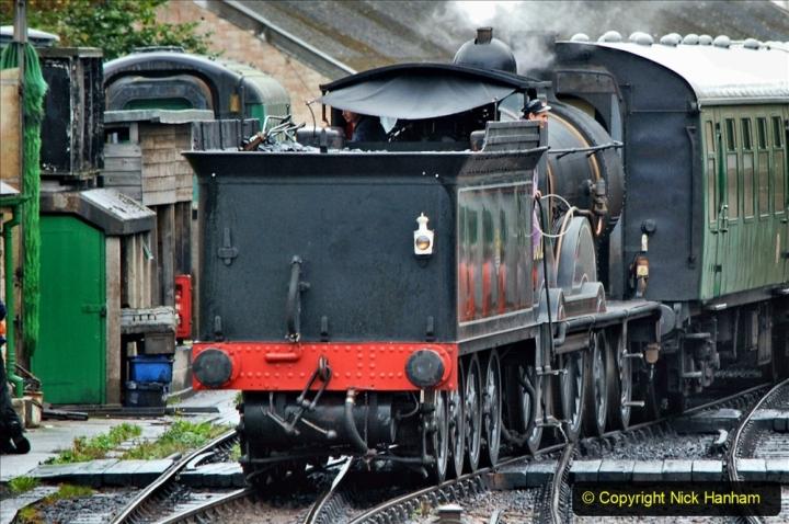 2019-10-11 Six Locomotives for the SR Autumn Steam Gala. (124) 124