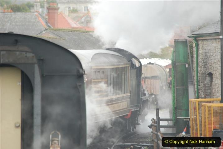 2019-10-11 Six Locomotives for the SR Autumn Steam Gala. (129) 129