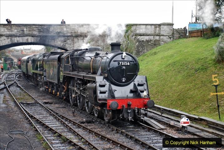 2019-10-11 Six Locomotives for the SR Autumn Steam Gala. (133) 133