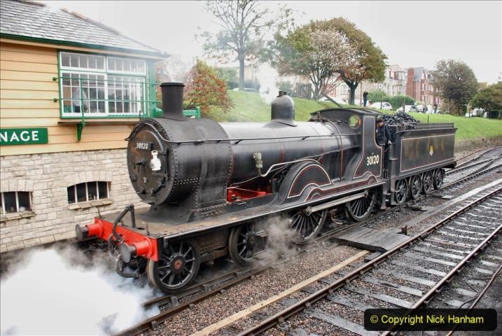 2019-10-11 Six Locomotives for the SR Autumn Steam Gala. (141) 141